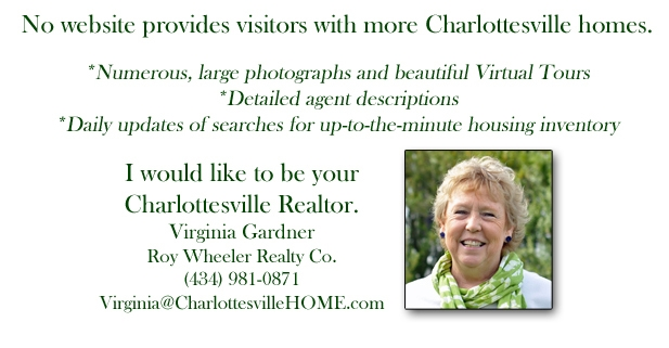 Preview Charlottesville homes with Realtor Virginia Gardner